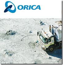 Job Orica  mining service