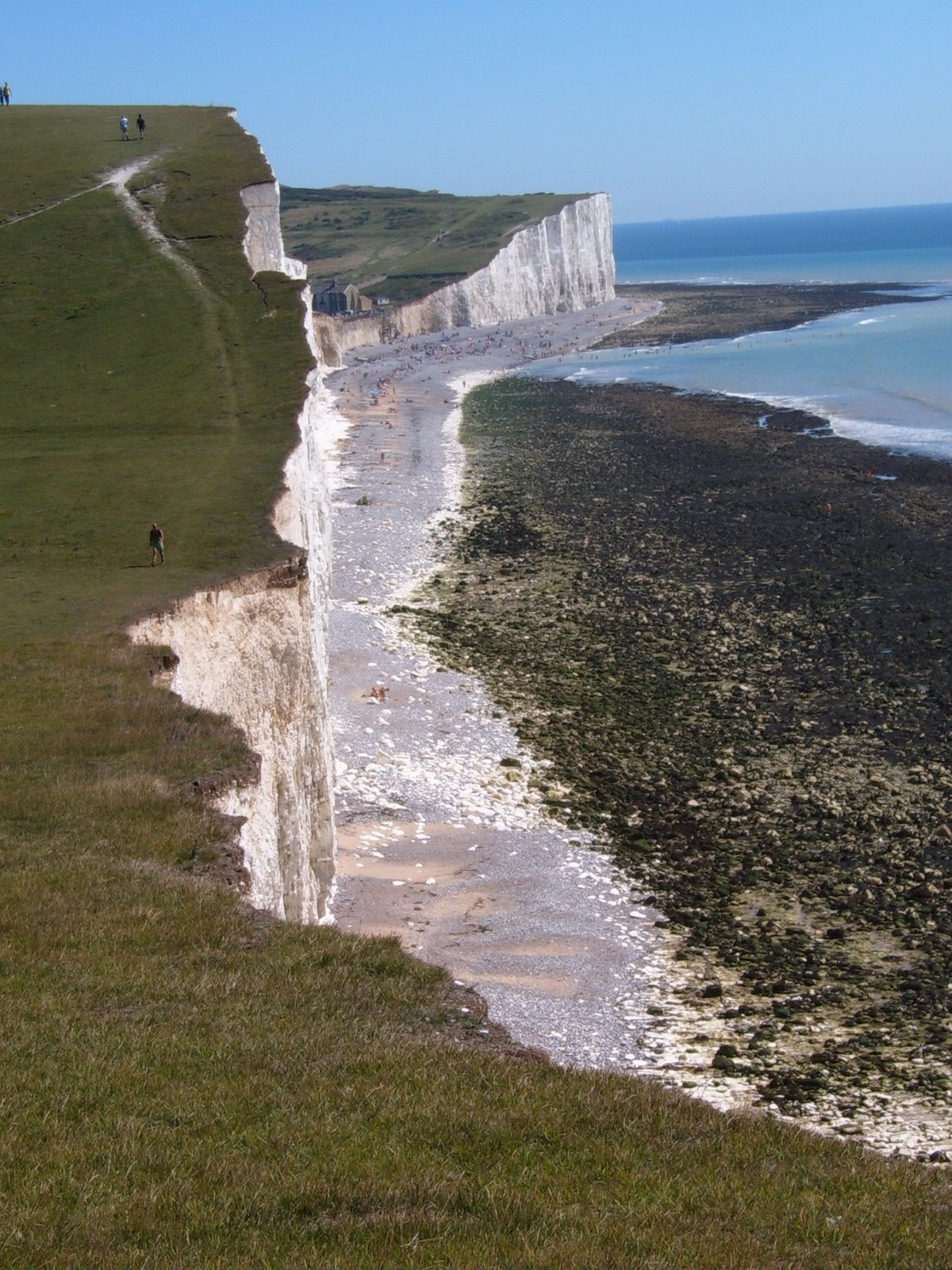 Shingle Beach below cliffs