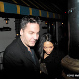 WWW.ENTSIMAGES.COM -  Thandie Newton    arriving at BAFTA's SilverLinings Playbook Dinner at Little House Queen Street  London February 8th 2013                                                        Photo Mobis Photos/OIC 0203 174 1069