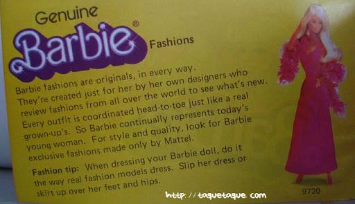 mi Babie Favorita 1977 - Barbie Superstar: reproducción del catálogo de Barbie de 1977