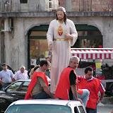 Arrivo statua del Sacro Cuore a Dasà