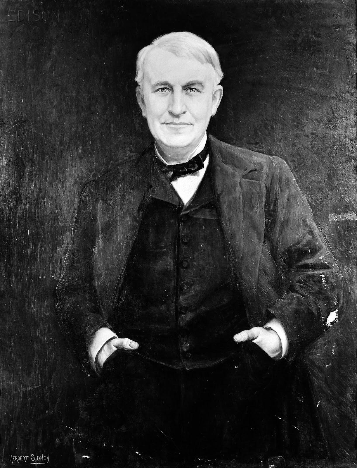 File:Portrait of Thomas Edison Wellcome M0006711.jpg - Wikimedia Commons