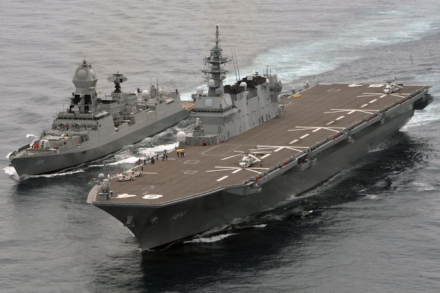 JIMEX-2020: Japan-India naval exercise