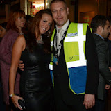 WWW.ENTSIMAGES.COM -  Alexis Smith  and Gary at   Liam Norval birthday party at Café de Paris, 3-4 Coventry Street, London October 5th 2013          Photo Mobis Photos/OIC 0203 174 1069