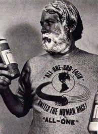 Who is Dr. Bronner anyway??? Photo cropped from www.dr.bronner.com