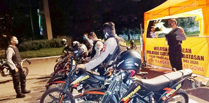 Pasca PSBB Berakhir Tim Turjawali Sat Shabara Polres Gowa Tingkatkan Patroli
