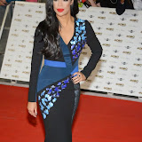 WWW.ENTSIMAGES.COM -    Sarah-Jane Crawford  arriving at        MOBO Awards 2014 at SSE Arena Wembley October 22nd 2014Annual awards show recognising the best in urban music which is supported by HTC.                                                Photo Mobis Photos/OIC 0203 174 1069