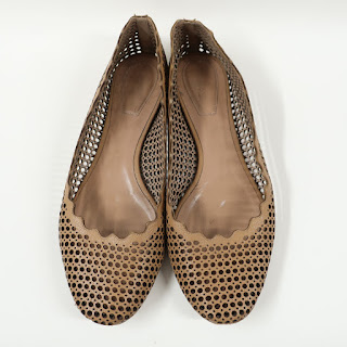 Chloé Perforated Flats