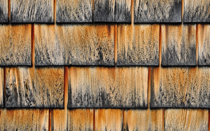 Wood Shingles by vquick1