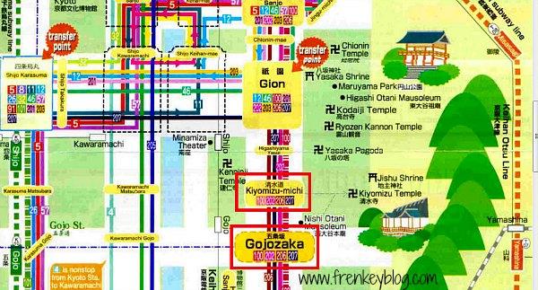 Cara ke Kiyomizudera Temple