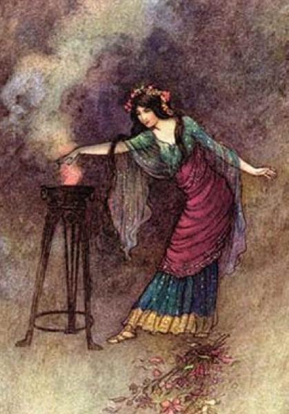 Goddess Of Fire, Goddesses