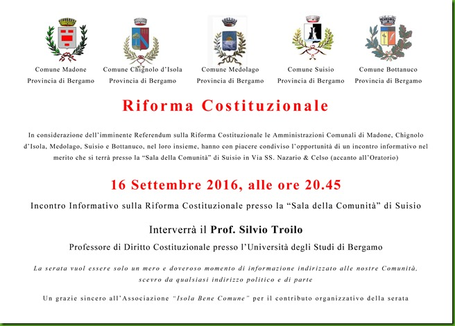 Avviso Assemblea a Suisio sulla Riforma Costituzionale 16 Settembre 2016 Rev. 02 (1)