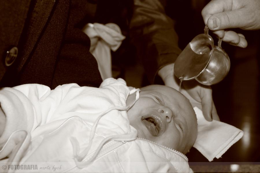 dziecko chrzest