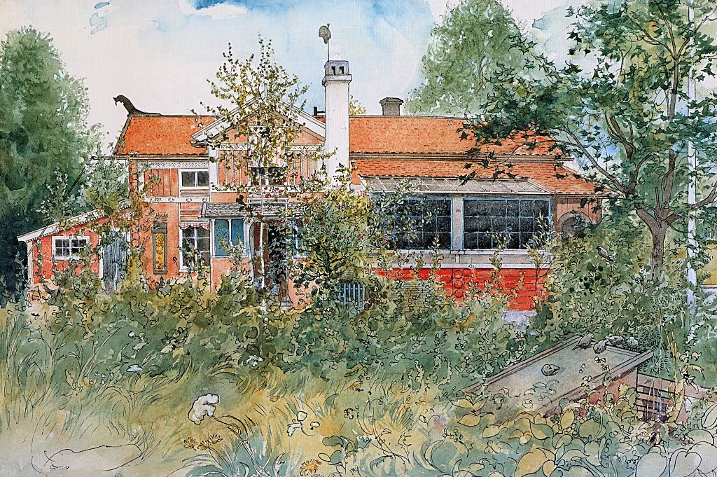 Carl Larsson - The Cottage, 1895