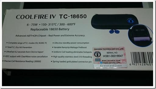 DSC 2432 thumb%25255B3%25255D - 【MOD】Innokin CoolFire IV TC-18650&iSUB Vクリアロマイザーレビュー!【同社初18650MODキット】