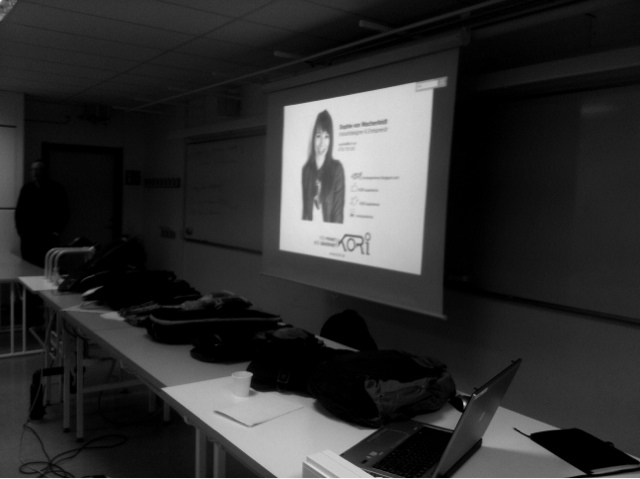 Sophie von Wachenfeldt kori lecture at malmö university