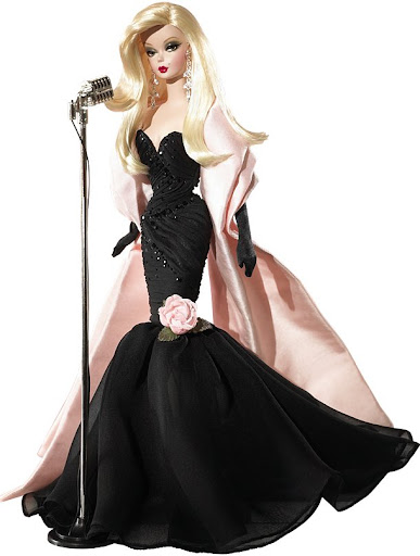 Barbie Silkstone o BFMC (Barbie Fasshion Model Collection) - Stunning in the Spotlight Barbie Doll