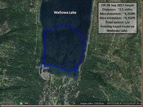 Wallowa Lake-28 Sep 2017-kayak