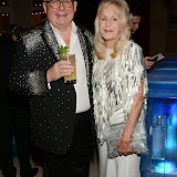 WWW.ENTSIMAGES.COM -    Christopher Biggins and Liz Brewer     at      Steps To The Future - fundraiser at The Hurlingham Club, London November 28th 2014Charity gala evening in aid of Walking With The Wounded and the Restoration of Appearance & Function Trust.                                                   Photo Mobis Photos/OIC 0203 174 1069
