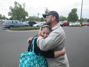 last-minute hugs