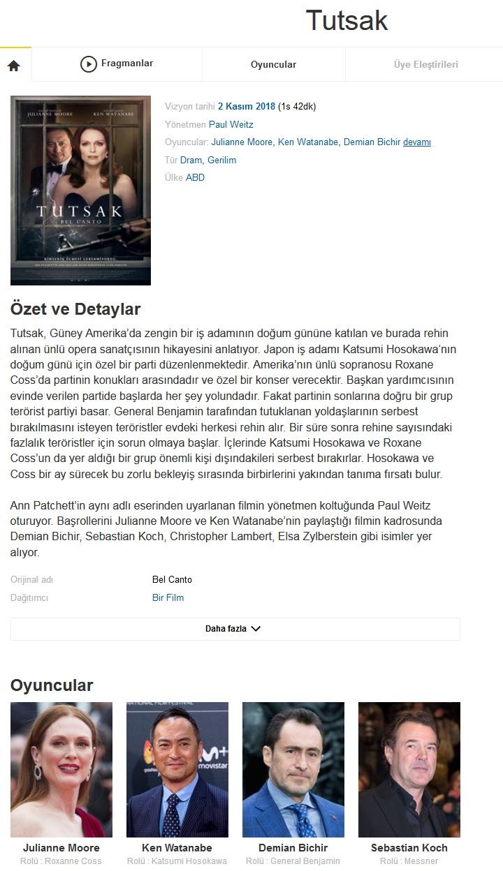 Tutsak 2018 - 1080p 720p 480p - Türkçe Dublaj Tek Link indir