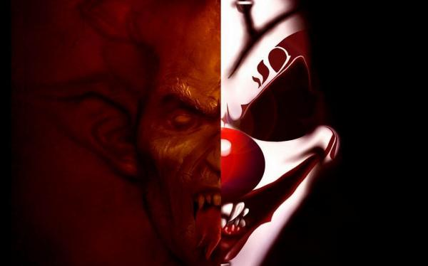 Clown Or Demon, Evil Creatures