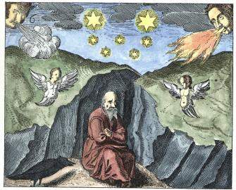 Engraving From Jd Mylius Philosophia Reformata Frankfurt 1622, Alchemical And Hermetic Emblems 1