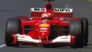 Michael Schumacher Ferrari F2001 Australia