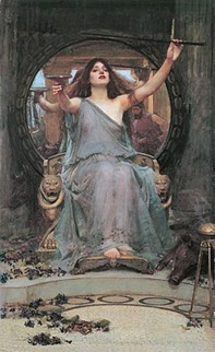 Circe.*oil on canvas.*148 x 92 cm.*1891