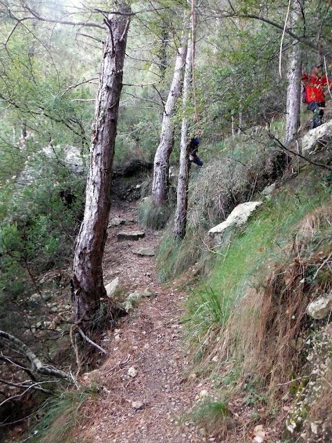 senderismo Sant Pere La Tossa Rossegadors Riu Sénia