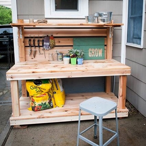 Potting Bench Outdoor Bar Buy Or Build Brooklyn Limestone