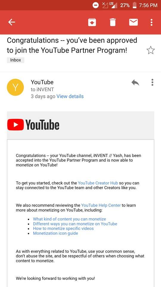 Still under review - YouTube Help