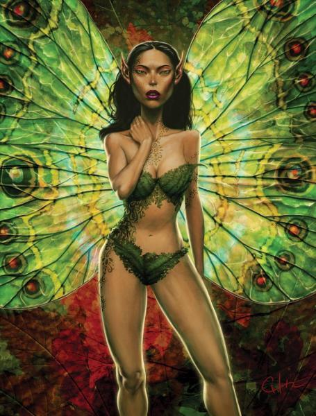Fairy In Green, Fairies Girls