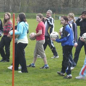 16.04.2008 Schnuppertraining für Mädchen beim SSV Überherrn