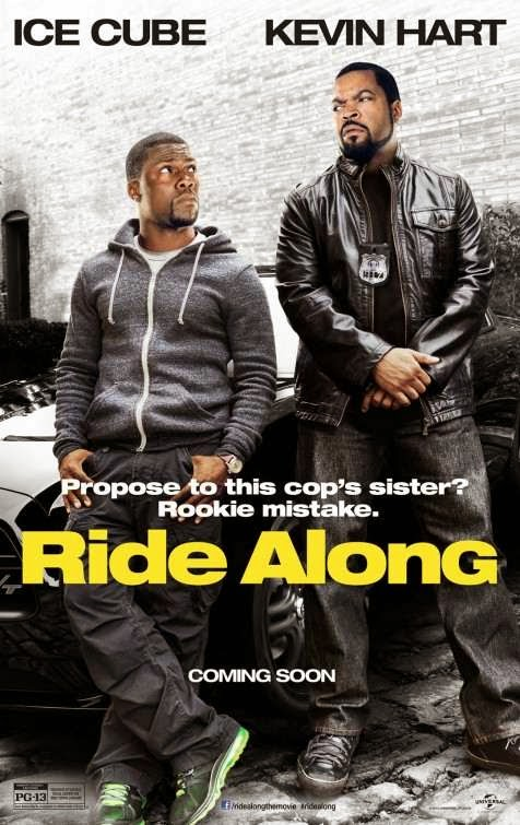 Poster Of Ride Along (2014) Full Movie Hindi Dubbed Free Download Watch Online At Alldownloads4u.Com