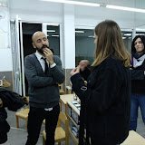 2018-11-19 1r d'EDI visita el Col·legi San Pedro per conèixer el Mètode Montessori de la mà del seu Director