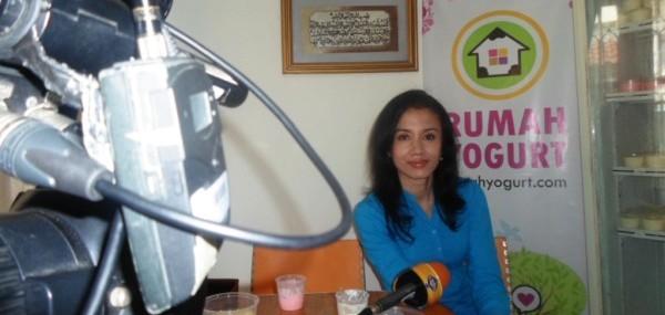 Rumah Yogurt Diliput TransTV