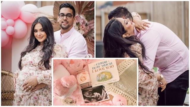 Padma Patil de Harry Potter e seu marido compartilharam fotos de seu chá de bebê no Instagram