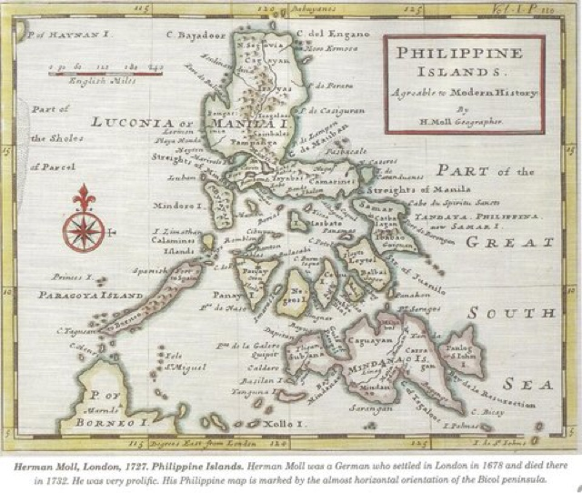 Spanish Philippines Map.West Philippine Sea Blog The Spratlys Has An Older Spanish Name