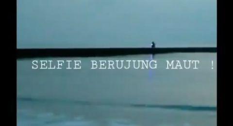 Asyik Selfie, Warga Ciamis Tewas Tenggelam Bersama Motornya di Teluk Penyu