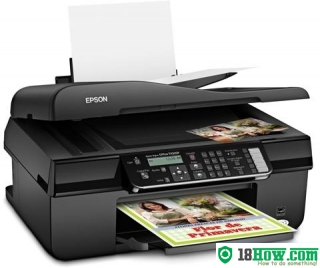 How to Reset Epson TX320F printing device – Reset flashing lights problem