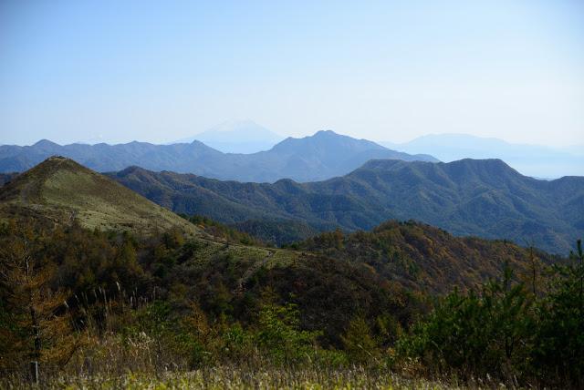 飯盛山から富士山