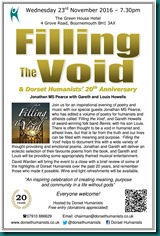 Filling the Void 23 November 2016