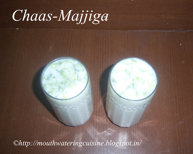 Chaas-Majjiga