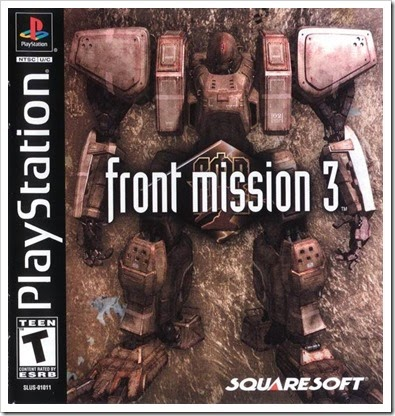 Front Mission 3 - game rom iso emu ps1 epsxe