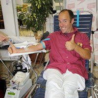 Pilar i donació a la Marató de Donació de sang  24-09-14 - IMG_4517.JPG