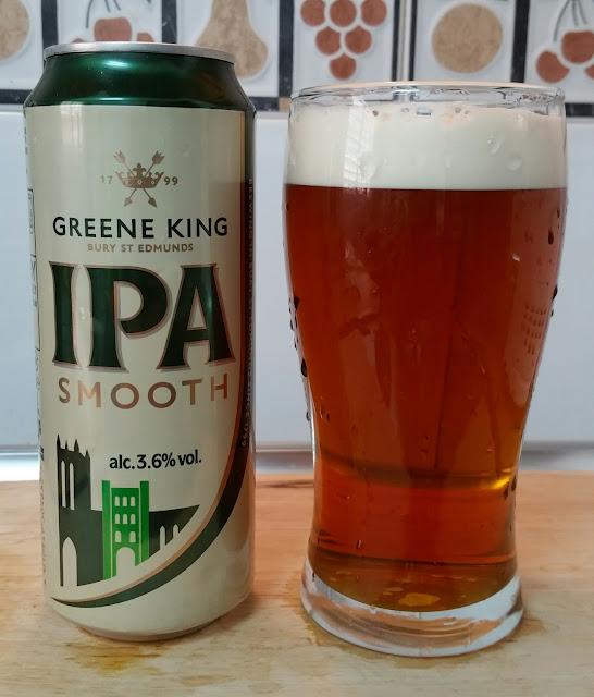 cerveza Greene King IPA Smooth  Cervezame en los labios