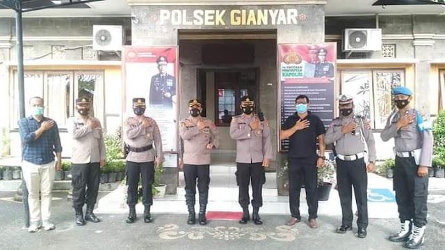 Kapolres Gianyar Kunjungan Kerja Ke Polsek Gianyar.