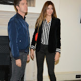 WWW.ENTSIMAGES.COM -   Noel Gallagher and Sara MacDonald    arriving at    Real Stars Are Rare - launch party at Somerset House, Strand, London October 8th 2014Paul Weller launch  his 2014 menswear collection at 101 London, a space within Somerset House.                                                     Photo Mobis Photos/OIC 0203 174 1069
