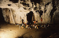 Clearwater Cave, Scumring Bivouac 1989 | photo © Matt Kirby